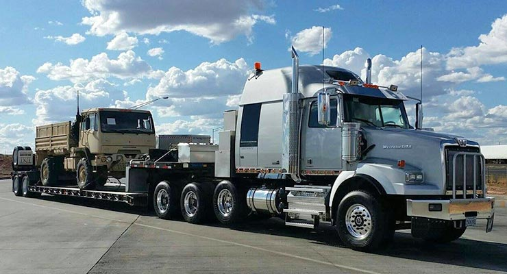 Flat Bed Hauler Auto Carrier