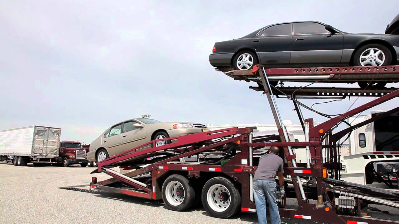 Cost to ship car open carrier